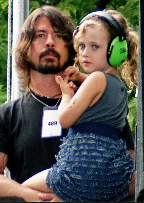 dave grohl head phones